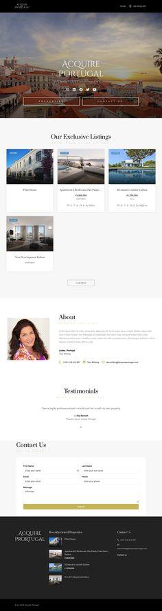 Real Estate Banner, Desktop Screenshot, Web Design, Website, Design Web, Website Designs, Site Design