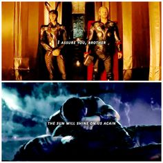 Image result for loki quotes infinity war the sun will shine on us again