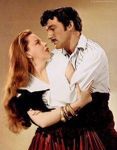 "Judy Garland & Gene Kelly in ""The Pirate"""