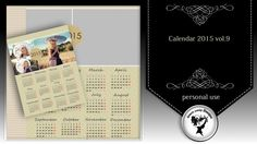Calendar 2015 vol.9 by Black Lady Designs