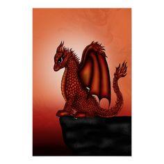 Pick your perfect Dragon wedding program with Zazzle. Dragon Wedding, Fantasy Posters, Fire Dragon, Wedding Programs, Dragons, Cute, Animals, Animales, Animaux