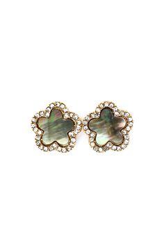 Mother of Pearl Chloe Earrings | Emma Stine Jewelry Earrings