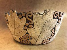 Foglia di quercia grande ciotola 11