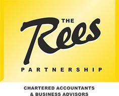 Contact us Matlock : The Rees Partnership Business Advisor, Chartered Accountant, Accounting, Logos, Logo