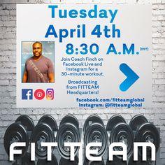 TUESDAYs 8:30AM #Fitteamenjoylife #fitteam4life