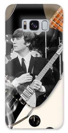 John Lennon Beatles Galaxy S8 Case for Sale by Marvin Blaine.  Protect your Galaxy S8 with an impact-resistant, slim-profile, hard-shell case.  The image is printed directly onto the case and wrapped around the edges for a beautiful presentation.  Simply snap the case onto your Galaxy S8 for instant protection and direct access to all of the phone's features!