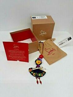 CHRISTIAN LOUBOUTIN Mexiloubi Doll Bag Charm NWT 100 AUTH   eBay