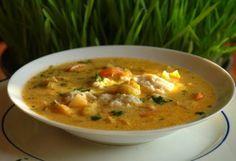 Sajtgaluska, zöldséglevesbe illő | NOSALTY – receptek képekkel