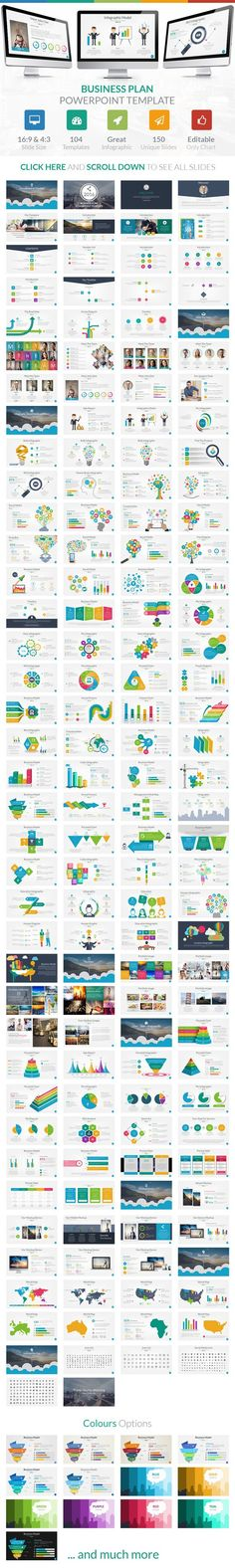 Modern Business Plan Business planning, Template and Business