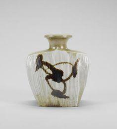 Shoji Hamada a bottle Vase