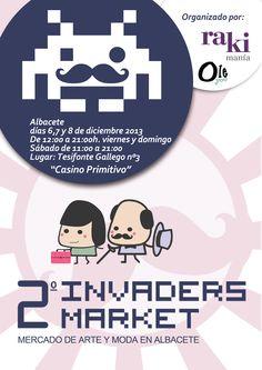 Nos vemos en Invaders Market!!!