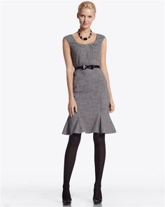 white house black market - cute hem! needs a little jacket or sweater for fall