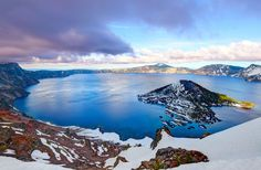 Crater Lake National Park - 16 National Parks with Amazing Scenic Drives