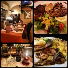 Amazing Italian food in the city centre of Rome