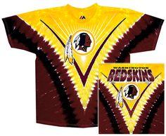 117c219ac Redskins Logo V-Dye - T-Shirt Redskins Logo