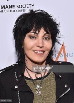 Joan Jett poses for a picture during the 2015 To The Rescue New York Gala at Cipriani 42nd Street on November 13 2015 in New York City