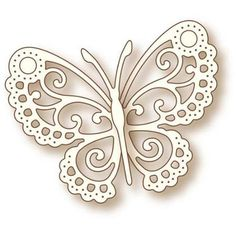 "Wild Rose Studio Specialty Die 2.5"" x 3.25"", Butterfly Lace"