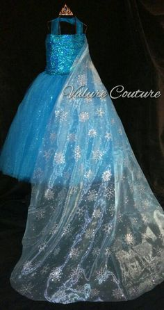 Check out this item in my Etsy shop https://www.etsy.com/listing/227292797/frozen-elsa-inspired-tutu-dress-toddler