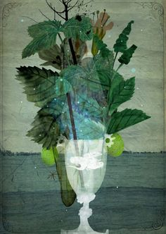 jenvaughnart:    A mojito always sounds good…  #illustration by Marco Wagner