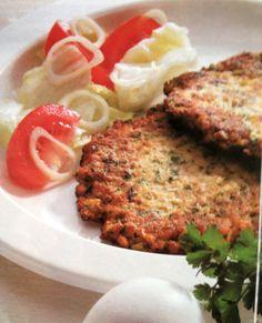 mushroom pancakes are great for a brunch or breakfast; original German recipe.
