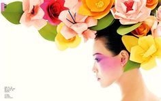 Vogue China - Flower Power