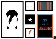 #arte #art #digitalart #davidbowie #bowie #star #heroes #music #poster #decoracao #draw #illustration #ivanlitenskiartista #ilartegrafica #design #artegrafica