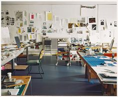 Rachel Whiteread's studio photographed by Nigel Shafran, June 2010  © Nigel Shafran
