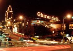Ghiradelli Square | San Francisco, California | Bay area | #sf Went here on our honeymoon