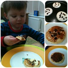 The Crazy Kitchen: Lemon and Raisin Pancakes Pancake Dessert, Crazy Kitchen, Butterscotch Pudding, Cooking With Kids, Everyday Food, What To Cook, Gingerbread Man, Main Meals, Raisin