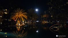 Chillin' out under the moonlight, snapshot of the night at Dusit Thani Hua Hin. #moonlight #swimmingpool #nightshot #huahin #chaam #หัวหิน #ชะอำ #แสงจันทร์ #สระว่ายน้ำ #dusitthanihuahin