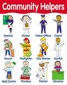 1000 Images About Pr K Community Helpers On Pinterest