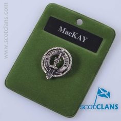 MacKay Clan Crest Ba