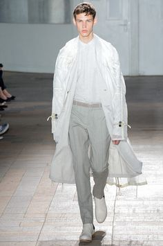 Maison Martin Margiela Spring 2015 Menswear Collection on Style.com: Runway Review