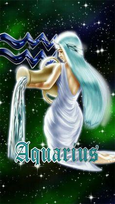Aquarius Tattoo, Aquarius Horoscope, Aquarius Woman, Zodiac Signs Aquarius, Age Of Aquarius, Zodiac Art, Astrology Zodiac, Signes D'air, Zodiac Characters
