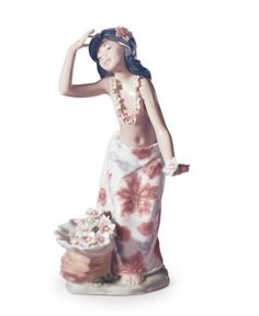 Lladro Collectible Figurine, Aloha - Collectible Figurines - for the home - Macy's