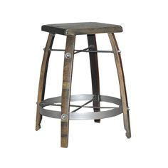 """Stave Stool 24"""" Noir by2 Day Designs"""