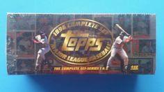 1996 TOPPS COMPLETE BASEBALL SET SERIES 1 + 2 MLB DEREK JETER, MICKEY MANTLE #marinersredsoxsyankeesmetsangels