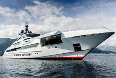 A Look at Heesen's Largest Superyacht Ever, Galactica Super Nova | American Luxury