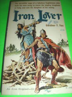 IRON LOVER BY GARDNER F. FOX 1959 AVON PBO BOOK