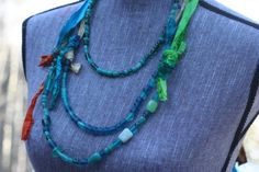 3 of a Kind Rockin' Necklaces that are totally easy to make