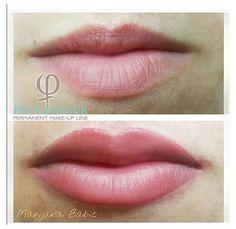 Lip Color Tattoo, Lip Liner Tattoo, Eyeliner Tattoo, Makeup Tattoos, Permanent Makeup Eyebrows, Eyebrow Makeup, Lip Makeup, Lip Contouring, Makeup Tips