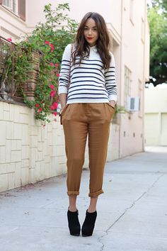 There's no reason pleated pants should look this good.