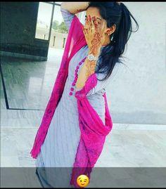Beautiful Girl Indian, Beautiful Girl Image, Patiyala Suit, Henna Designs Easy, Pakistani Wedding Dresses, Muslim Girls, Patiala, Punjabi Suits, Girl Photos