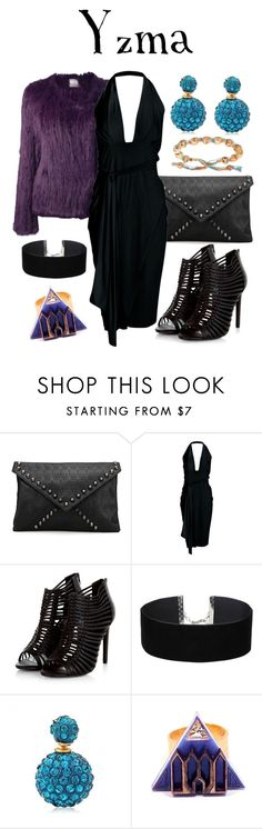 """""""Yzma - Party"""" by waywardfandoms ❤ liked on Polyvore featuring Boohoo, Miss Selfridge, Anisha Parmar London, party, disney and emperorsnewgroove"""