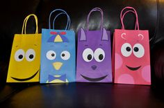 Backyardigans Birthday Party Gift bag Goody by collegesxpensive, $8.99