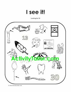 I See It! for language and articulation of TH  - Pinned by @PediaStaff – Please Visit  ht.ly/63sNt for all our pediatric therapy pins