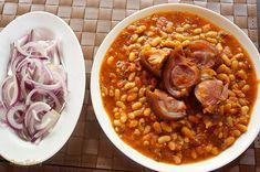 Fasole cu ciolan afumat   Retete culinare cu Dana Valery Chana Masala, Ethnic Recipes