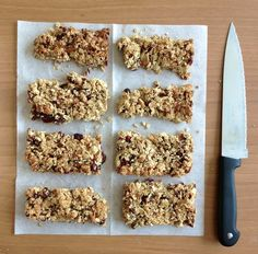 Fitness and Health: Simple homemade granola bars