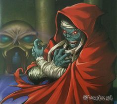 Terrific Mumm-Ra art piece by an unknown artist. If you know who created this, let us know. http://ThunderCats.org