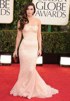 Pin for Later: Something Fishy! The Greatest Mermaid Dresses of All Time  Megan Fox wore a delicate lace Dolce & Gabbana frock to the Golden Globes in 2013.